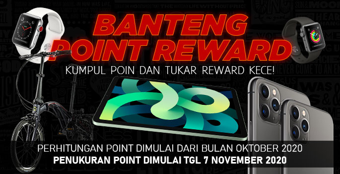 BANTENGMERAH.COM - point reward