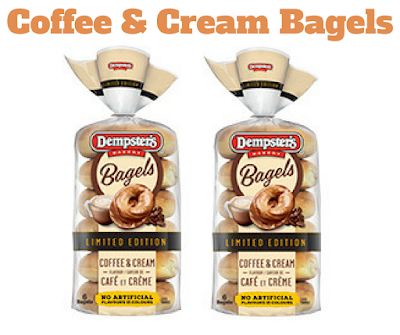 Dempster's Coffee & Cream Flavour Bagels - Get a COUPON