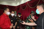 Ketua MPR RI Himbau Warga Sulut Lebih Disiplin Terapkan Protokol Kesehatan Adalah Vaksin Terbaik