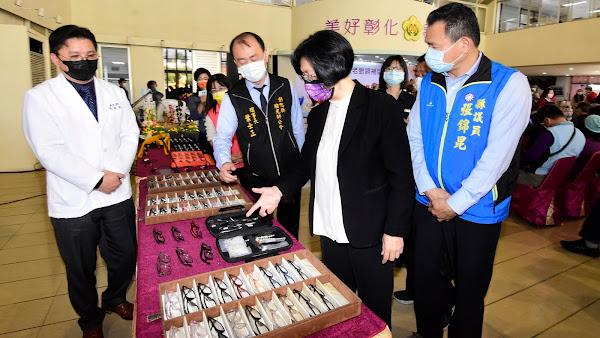 彰化縣老花眼鏡補助 65歲以上長輩免費配送