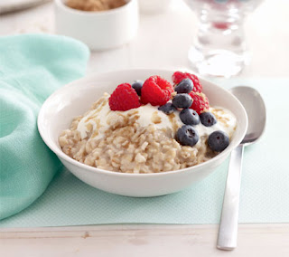 Oatmeal with Summer Fruit Recipe