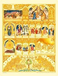 Illustrated Liturgical Year Calendar for Children