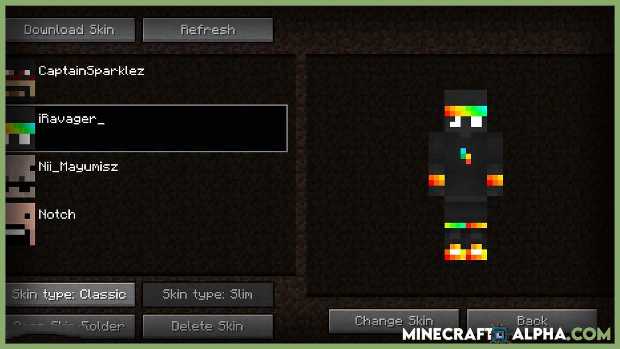 Minecraft Skin Swapper Mod 1.17.1 (Quickly Change Skin)