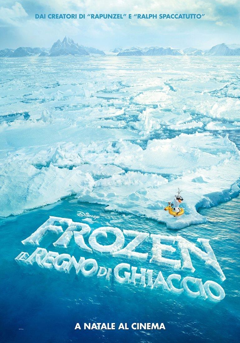 Frozen Italian Teaser Poster : Teaser Trailer