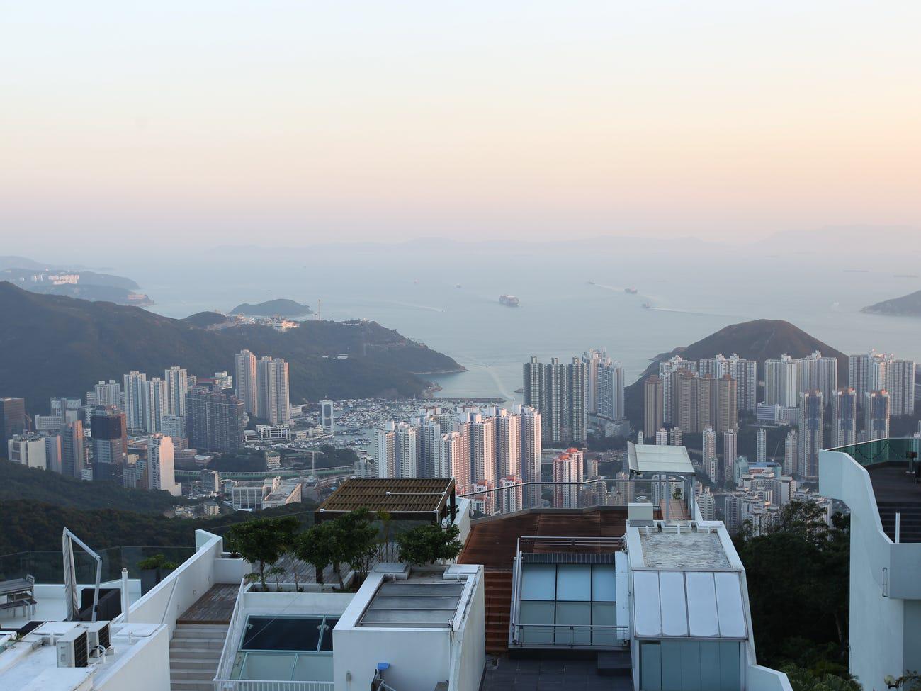 Đường Mount Kellett, Hồng Kông