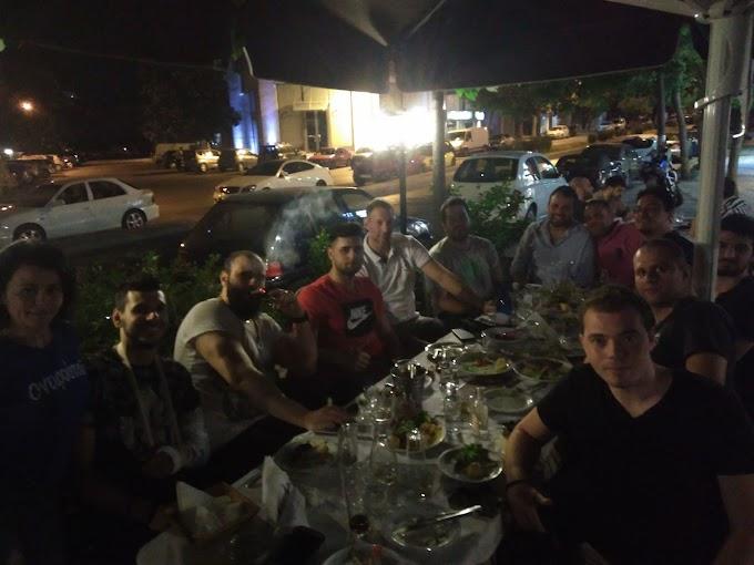 Αρχή του γλεντιού της ανόδου με γεύμα για την Αθλητική Ακαδημία Καλαμαριάς