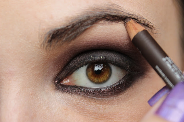 twenties make-up: step 10