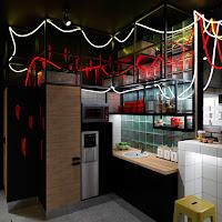 ДИЗАЙН КАПСУЛЬНОГО ОТЕЛЯ И КОВОРКИНГА STREETART Екатеринбург DULISOV Дулисов design HOTEL interior capsule hotel inn Ekaterinburg интерьер проект