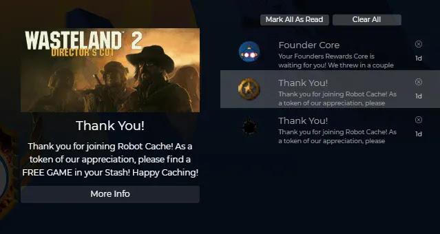 Wasteland 2 gratis dari RobotCache