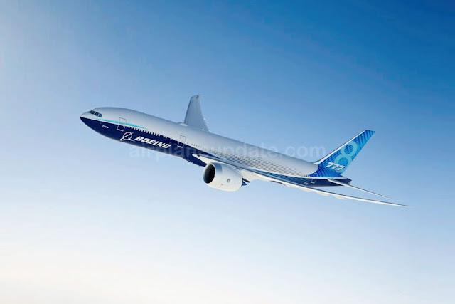 Boeing 777-8 Jetliner