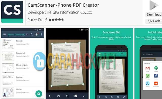 CamScanner aplikasi android terbaik untuk mahasiswa