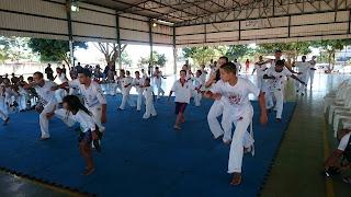 Encontro de capoeiristas no Riacho Fundo II