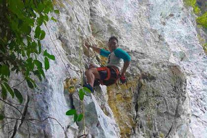 Jalur Panjat Baru Di Tebing Pucok Krueng Aceh Besar