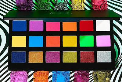 Sleek neon bold Eyeshadow Palette