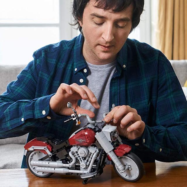 Lego Harley Davidson
