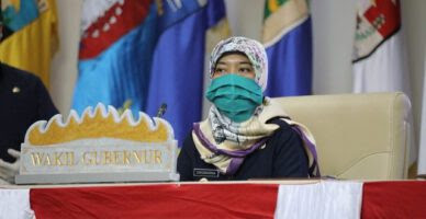 Bantuan APD dan Makanan DKP Provinsi Lampung Diterima Posko Terpadu Covid-19