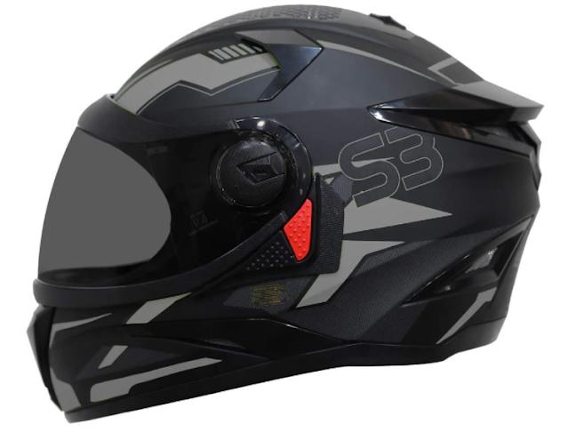 Steelbird SBH-17 Terminator Full Face Graphic Helmet