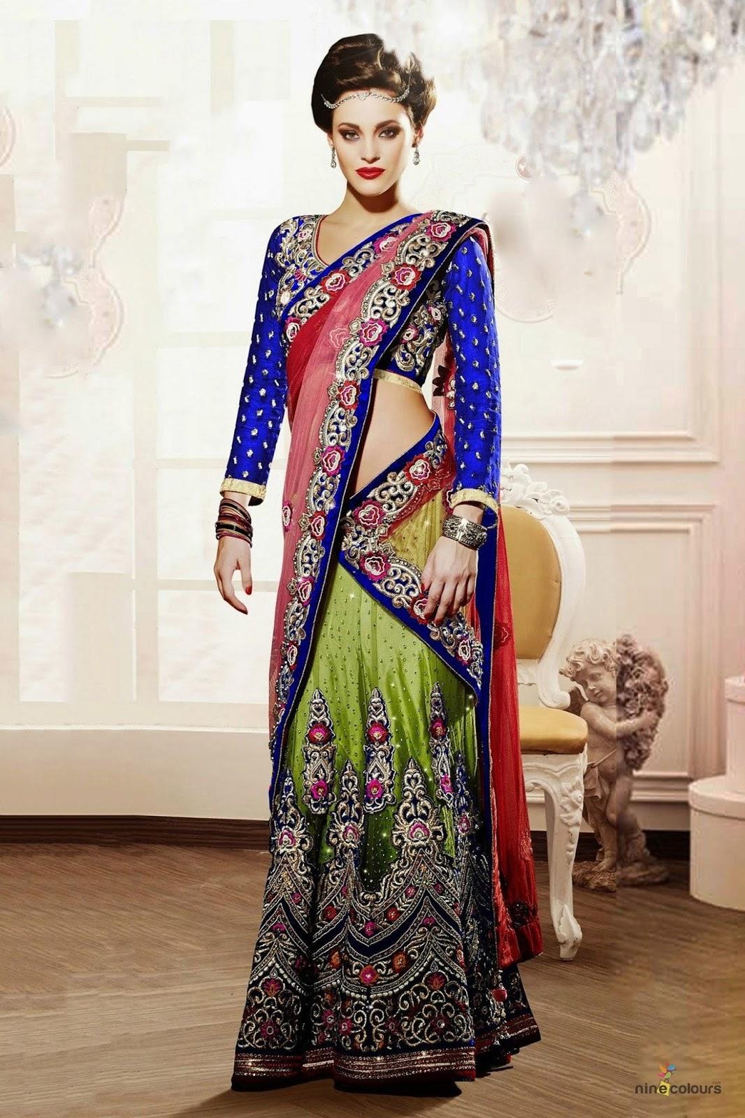 Online shopping sites for lehenga choli
