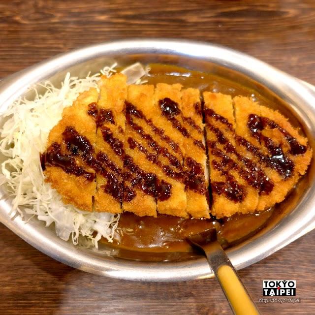 【咖哩的冠軍】元祖金澤咖哩 甜辣咖哩飯搭配現炸酥脆豬排