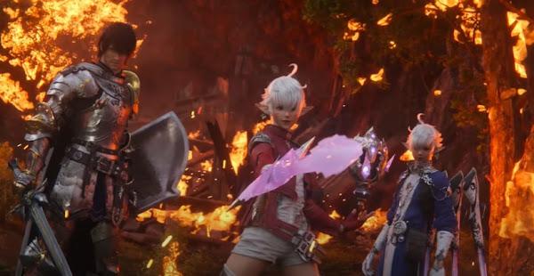 Final Fantasy XIV Patch 5.5 Endwalker Stage On 13 April