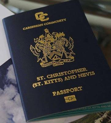 Паспорт Сент-Китс и Невис - гражданство за инвестиции