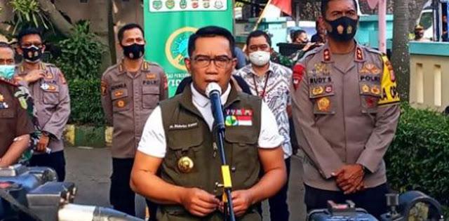 Disuntik Vaksin Sinovac, Ridwan Kamil Mengaku Pegal-pegal