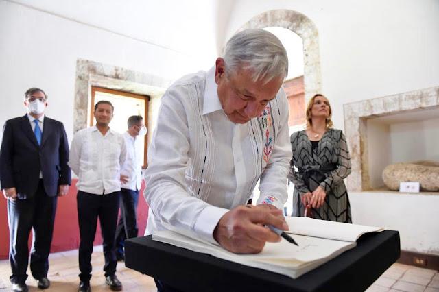 AMLO encabeza inicio de conmemoraciones emblemáticas por 2021, Año de la Independencia