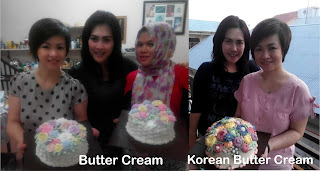korean butter cream, belajar korean butter cream, kursus kue pekanbaru, kursus korean butter cream, Kursus kue pekanbaru.