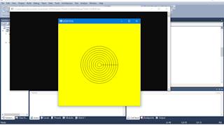 Cara membuat lingkaran radar dengan menggunakan OpenGL