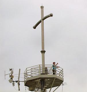 Krzyż milenijny na Grzywackiej Górze.