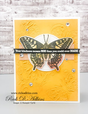 Fun card using the Many Messages Bundle and the upcoming early release Butterfly Bouquet Bundle.  Click here to learn more
