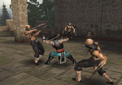 Mortal Kombat Shaolin Monks PS2 Download ISO ROM