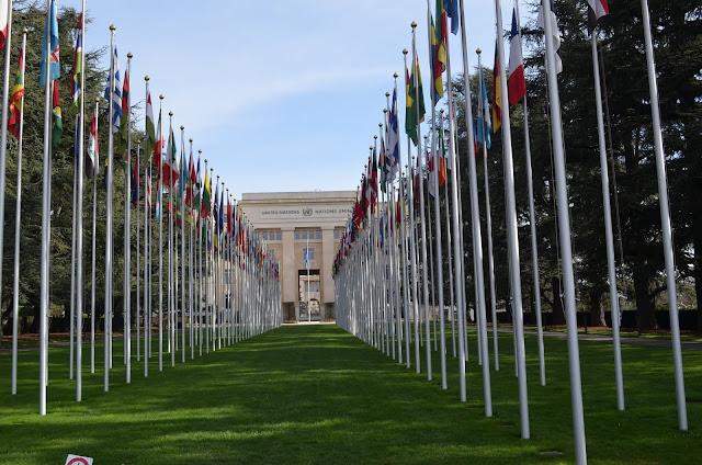 bandeiras de todos os países da Nações Unidas (Flags of United Nations)