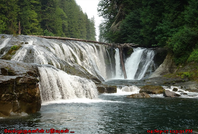 Middle Lewis River Falls