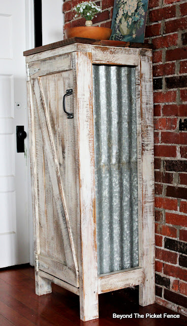 Build a Rustic Farmhouse Jelly Cupboard