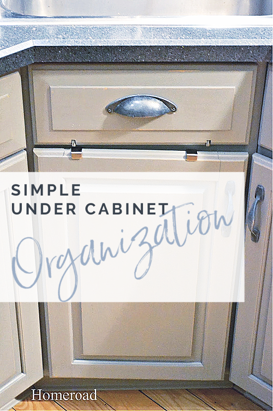 kitchen cabinet with overlay
