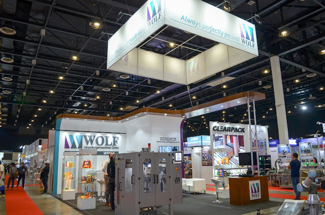 WOLF tradeshow display