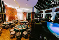 decoração da festa de formatura de medicina da ULBRA no hotel sheraton em porto alegre - salão pool bar pro life eventos especiais