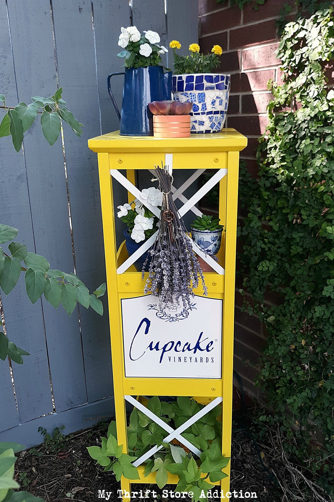 repurposed plant stand