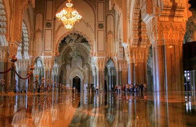 rindu masjid: masjid hassan ii -casablanca, maroko