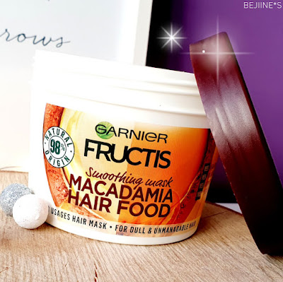 Masque Fructis Hair Food de Garnier - Macadamia