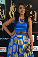 Madhu Shalini Looks Super Cute Slim trim Blue Choli Ghagra IIFA Utsavam Awards 004.JPG