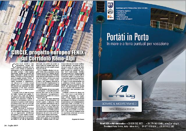LUGLIO 2019 PAG. 24 - CIRCLE, progetto europeo FENIX sul Corridoio Reno-Alpi