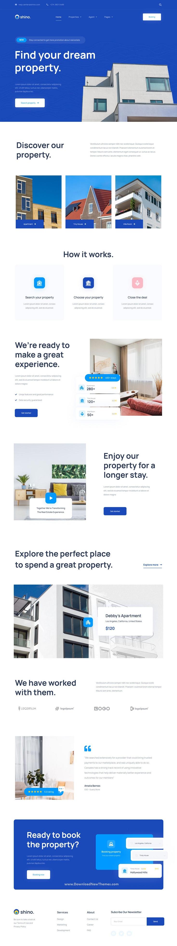 Real Estate Elementor Template Kit