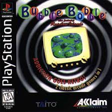 Bubble Bobble - featuring Rainbow Islands - PS1 - ISOs Download