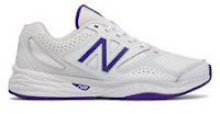 New Balance Women's 824v1 Shoes White with Purple