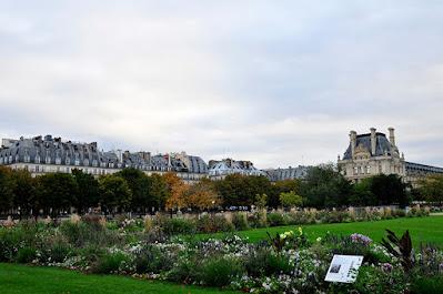Royal gardening in Tuileries of Paris