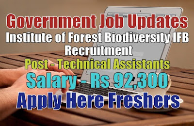 IFB Recruitment 2020