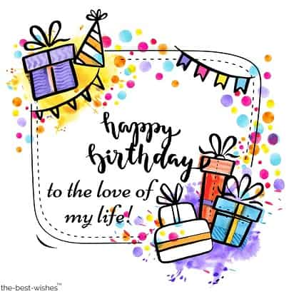 happy birthday wishes for my wife to be