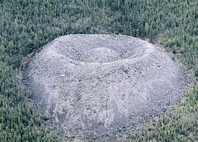 crater in russia